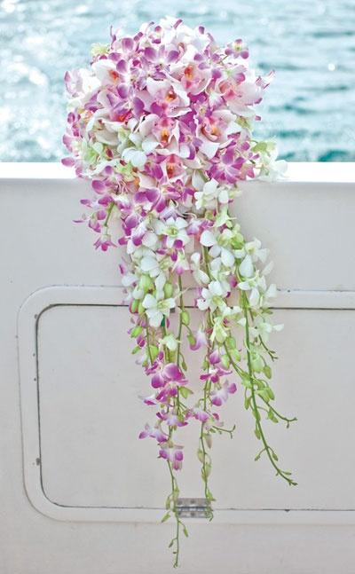 Cascading bouquet by My Secret Garden