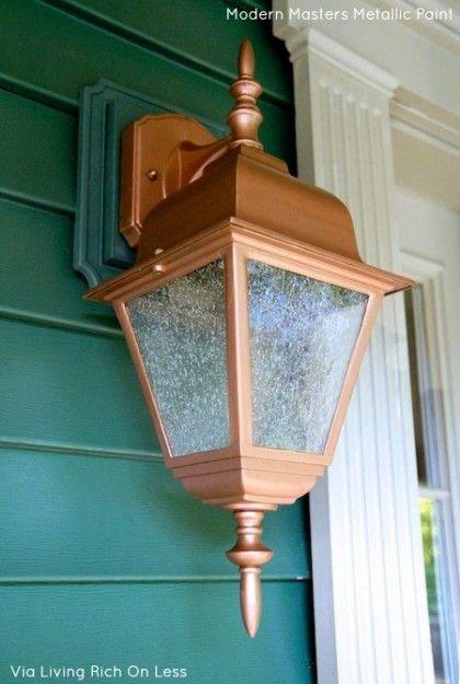 Copper Metallic Paint Exterior