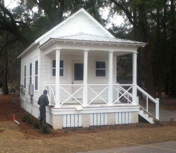 southern fried mini home: Tiny House, Little House, Southern Fried, Guest House, Oysters Wharf, Tiny Cottages, Small House, White House, Shotguns House