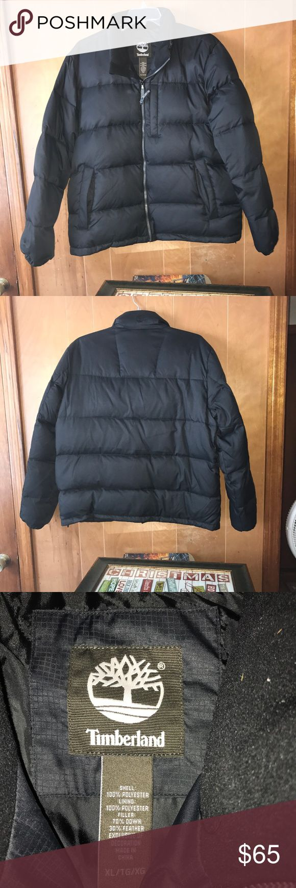 Men's XL Timberland jacket!!! Size XL men's black Timberland jacket, never worn before, price is negotiable Timberland Jackets & Coats Puffers