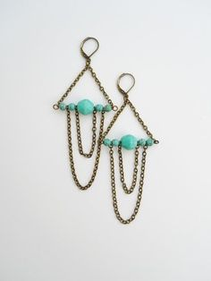 Simple....but very cute and soooo many diff things you can do color/bead wise!