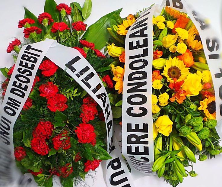 Coroane funerare Bucuresti, livrare gratuita coroane funerare in Bucuresti de luni pana duminica