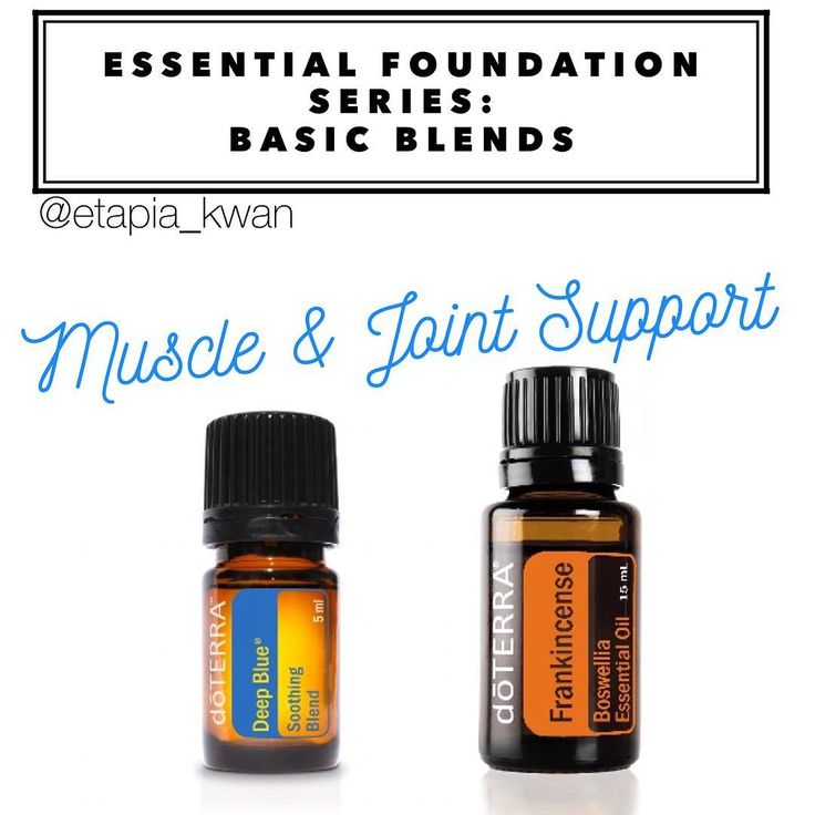 My essential foundation series is a great way to learn how to use DoTERRA's top 10 oils as part of your daily routine. Deep Blue and Frankincense can provide muscle and joint support when experiencing temporary discomfort. For instance, after a strenuous workout, a long days work, long hours on the computer, athletic events, or a day of gardening.  Apply by layering a drop of Deep Blue, followed by a drop of Frankincense to the area of discomfort, then massaging them in with a carrier oil…