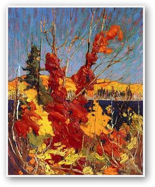 Tom Thomson. Autumn foliage