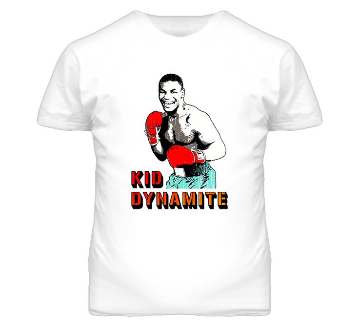 Mike Tyson Retro Style Kid Dynamite T Shirt