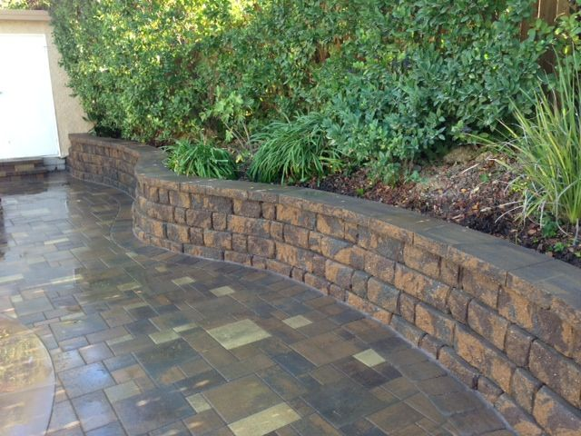 Retaining Wall Interlocking Blocks Belgard Highland