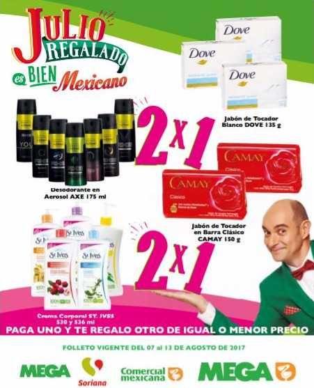 Esta fin de semana Julio Regalado 2017 tienen un nuevo folleto de ofertas del 11 al 14 de agosto en tiendas Soriana, Comercial Mexicana y Mega:3×2 en ...