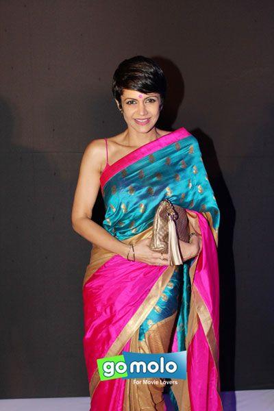 Mandira Bedi at SNDT-AMD Chrysalis fashion show in Mumbai