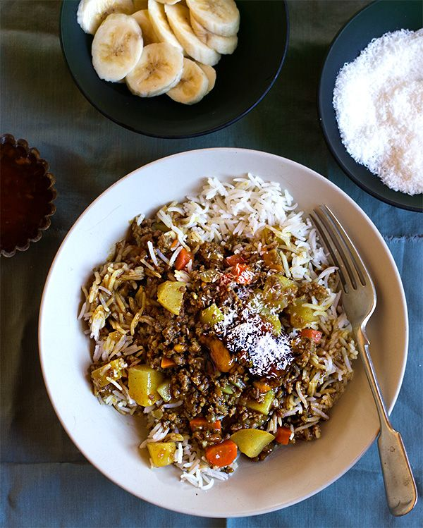 South African Curry and Rice - From @aninasrecipes