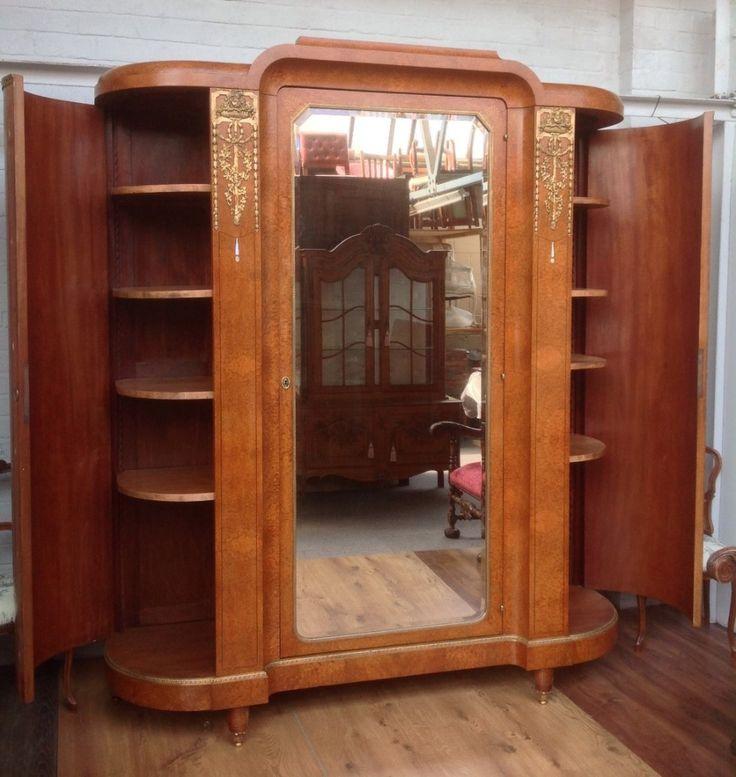 Large Art Deco French Armoire | 475757 | Sellingantiques.co.uk