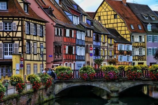 """Little Venice Colmar, France """"Very photogenic and romantic with the opportunity for a short gondola experience through the narrow streets"""" 12 fairy-tale places that are actually real"""