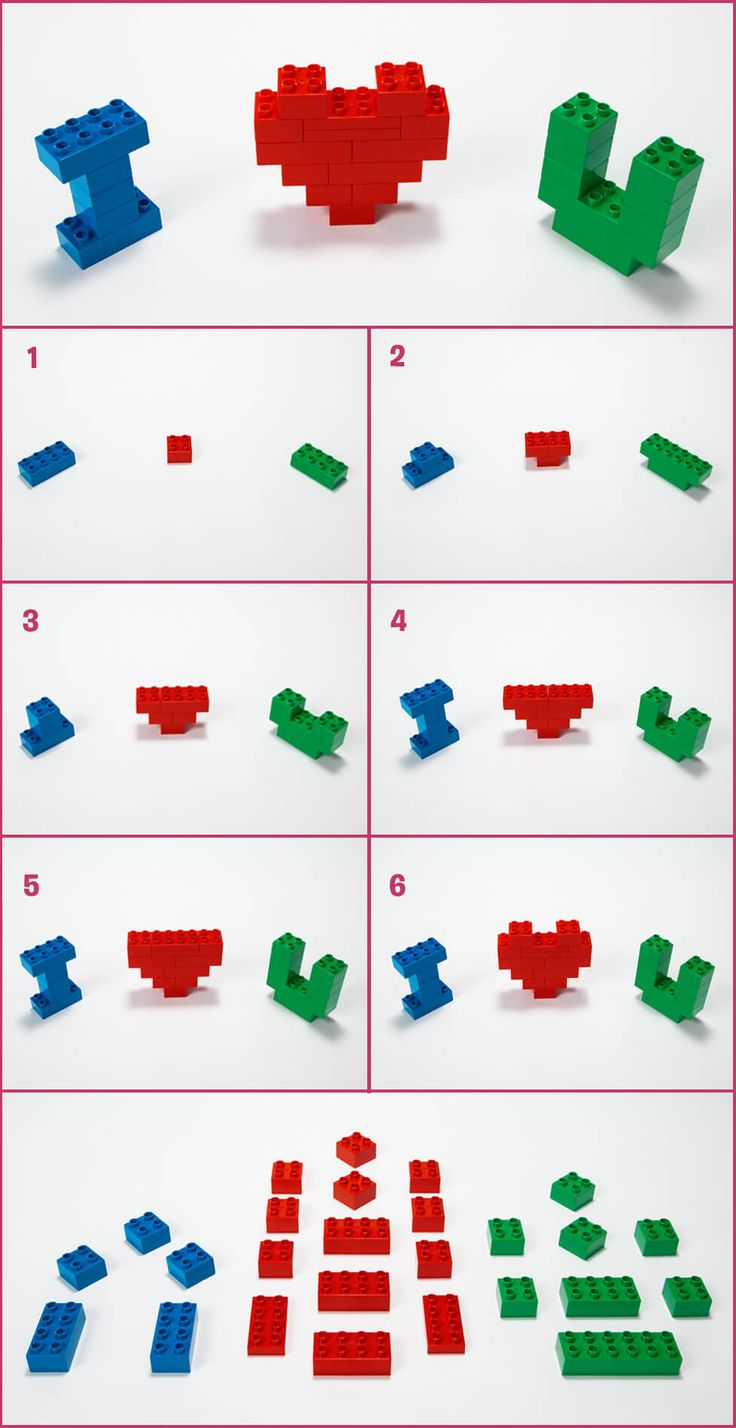Heart-melting Valentine's crafts for toddlers - Articles - Family LEGO.com