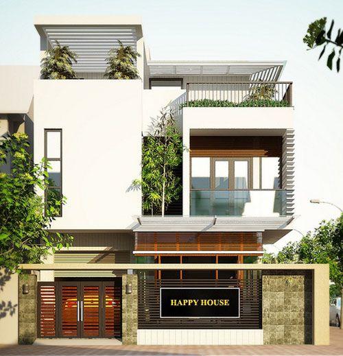 Trong thiết kế kiến trúc nhà phố, các kiến trúc sư của Nhà Đẹp 365 luôn ưu tiên bố trí mặt bằng các phòng theo tầng thật hợp lí để thuận tiện với nhu cầu sử dụng và tận dụng không gian tối đa, tiếp đến là thiết kế mặt tiền sao cho đẹp, phù hợp với văn hóa chung của khu vực đó.