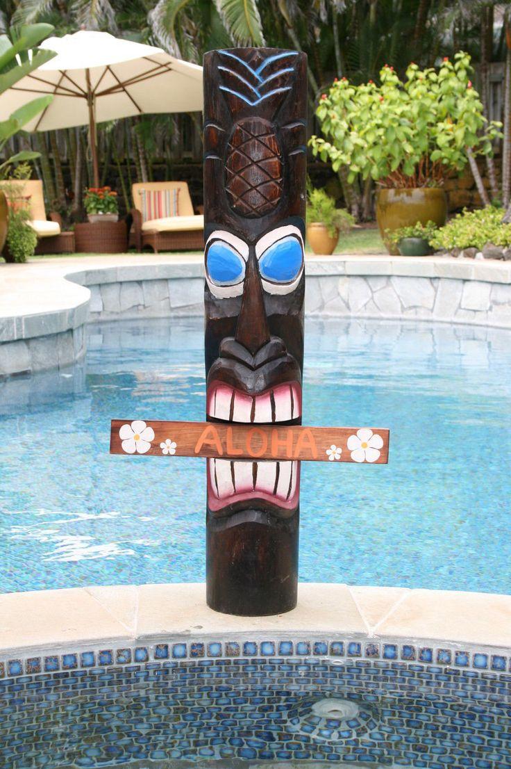 Best 25 Tiki Statues Ideas On Pinterest Hawaiian Tiki