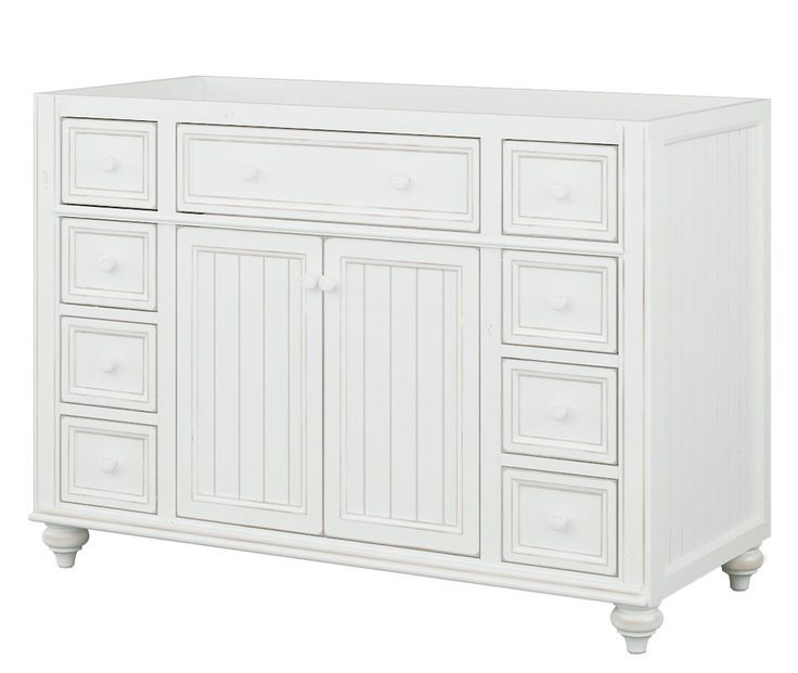 Pictures In Gallery View the Sagehill Designs CRD Cottage Retreat Bathroom Vanity Cabinet Only at Build