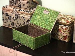 A Simple DIY Project: Jewellery Box of Cardboard | Livemaster - handmade