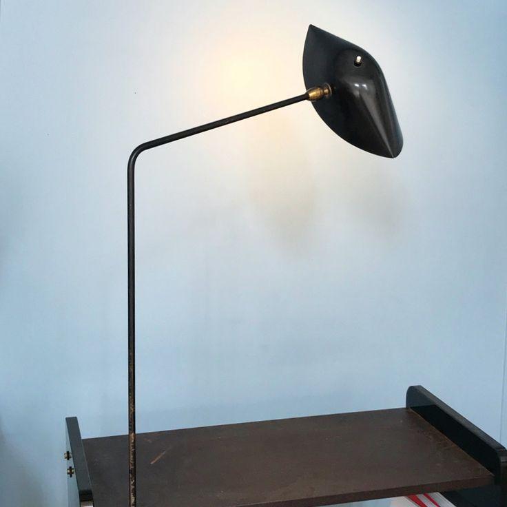 Serge Mouille, lampe Agrafe circa 1950s peinture d'origine ...