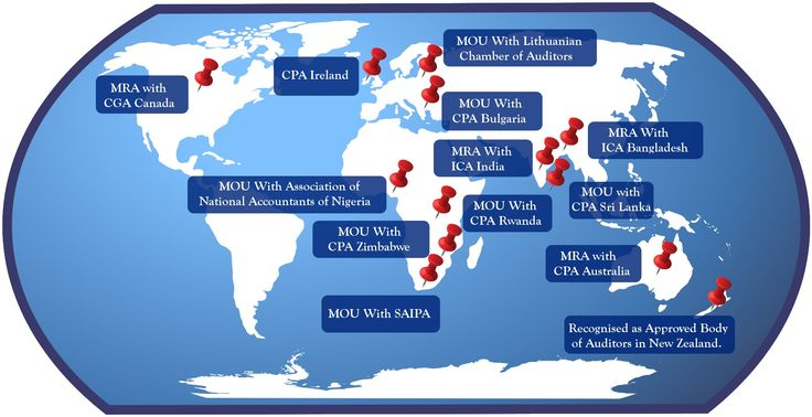 CPA Ireland International - check out our partnerships around the globe