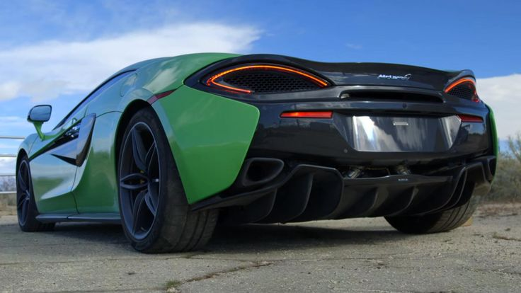 This new McLaren 570S supercar costs just a fraction as much as the cars it sits next to on the showroom floor. With a sticker price of just $187,400, the 570S is nearly a hundred grand cheaper than the 650S, and it's nearly as fast too. The cost has come down by substituting aluminum body panels where carbon fiber was previously used, and conventional suspension in place of the 650S's interconnected hydraulic lines. The basic bits remain: a
