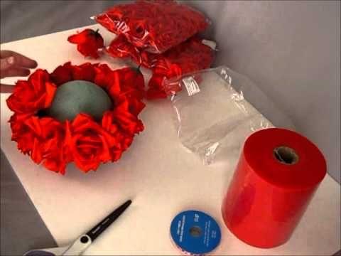 DIY Pomander ball/ Kissing Ball Wholesale Rose Heads by the dozen