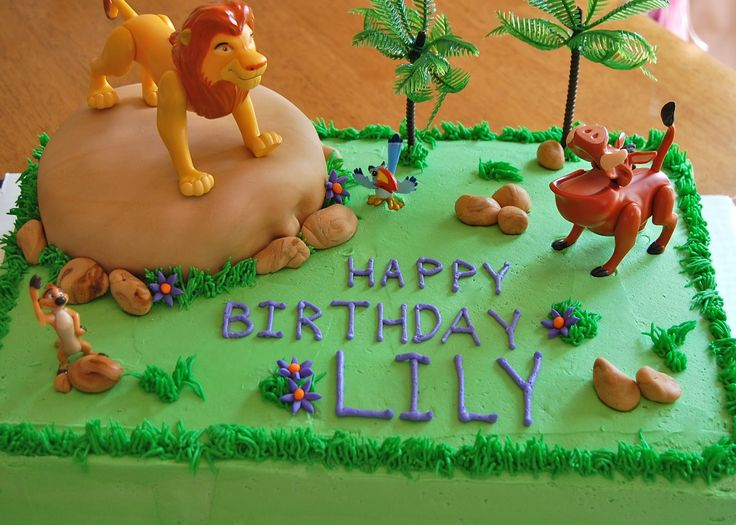 Lion Birthday Cakes Food Cake – Pictures Of