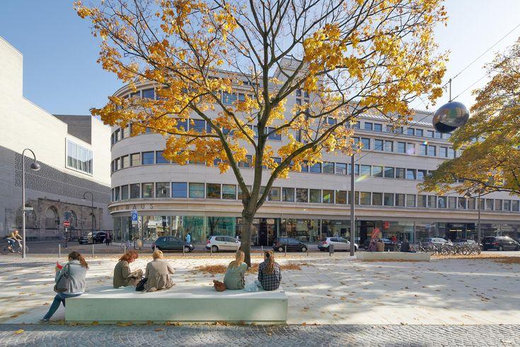 Fancy Rathausplatz Solingen Germany by scape Landschaftsarchitekten Urban stuff Mobiliers Urbains Pinterest