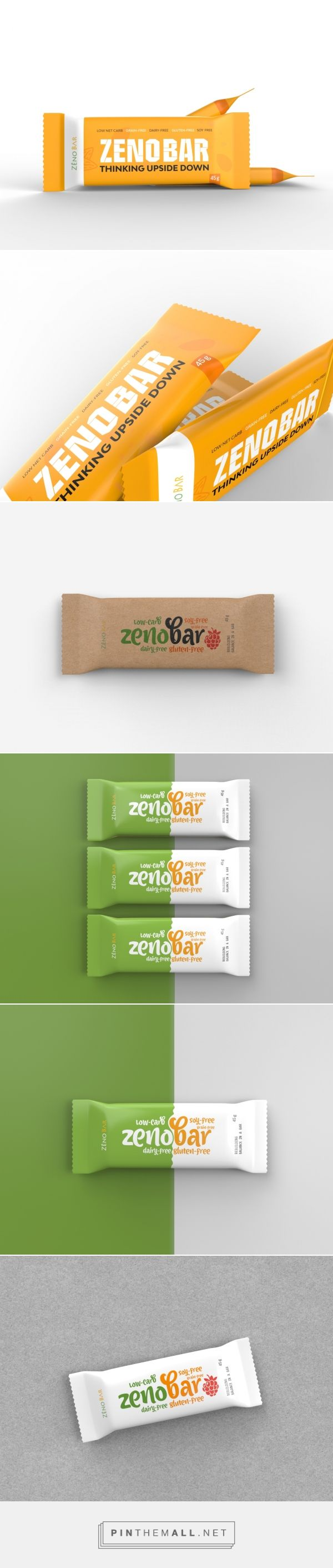Zenobar Energy Bar (Concept) - Packaging of the World - Creative Package Design Gallery - http://www.packagingoftheworld.com/2016/09/zenobar-energy-bar-concept.html