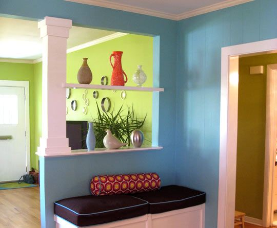 20 Best Images About Entryway Half Walls On Pinterest