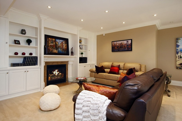 basement fireplace and built ins more living rooms built ins household