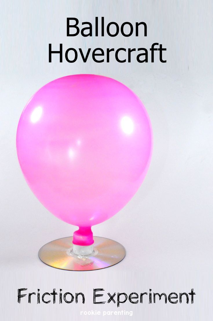 Hovercraft & Friction Science Experiment | Fun STEM