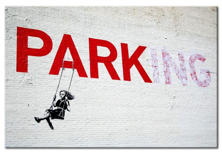Œuvres de Banksy dans une nouvelle version - plaque décorative en métal #banksy #plaquemétal #plaque décorative #impressionsurmétal #streetart
