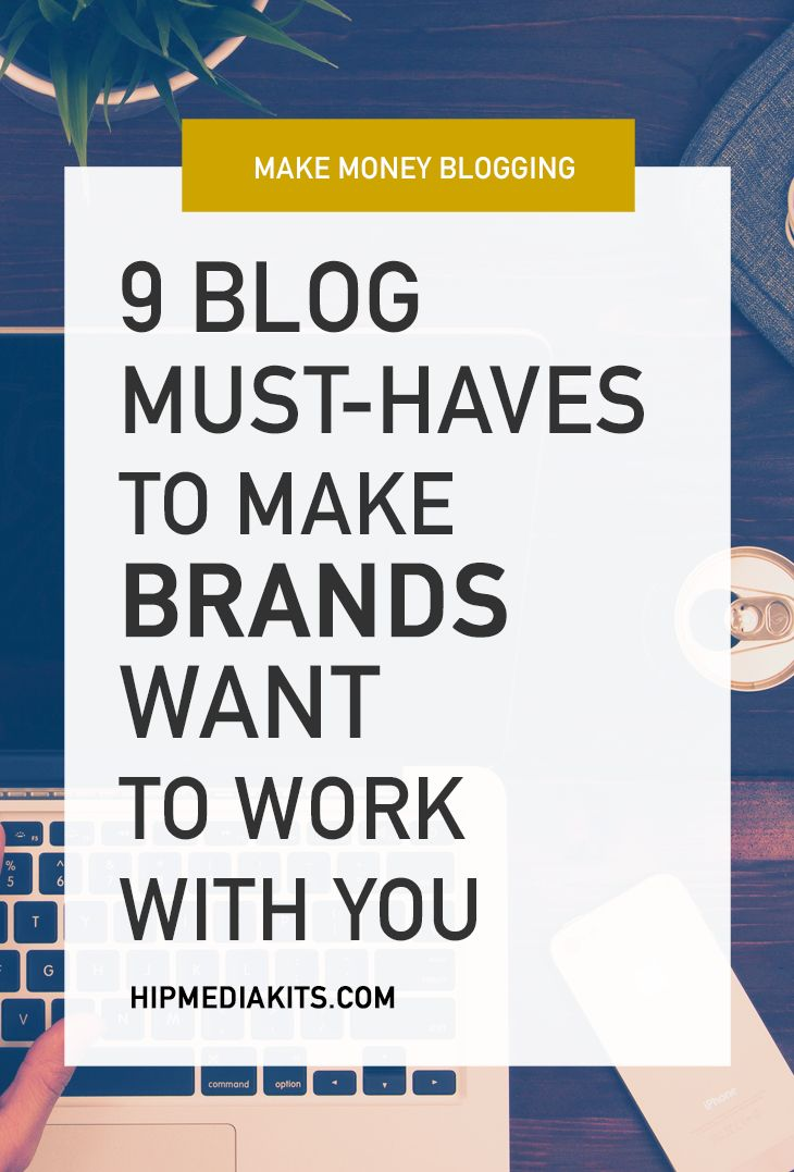 Do you want to boost sponsors for your blog? Want to earn more? Here are some blog must-haves to convince brands that you are the one they NEED!