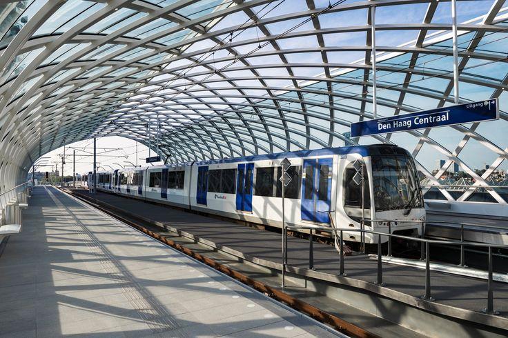 Metrostation Den Haag Centraal in gebruik genomen - SpoorPro.nl