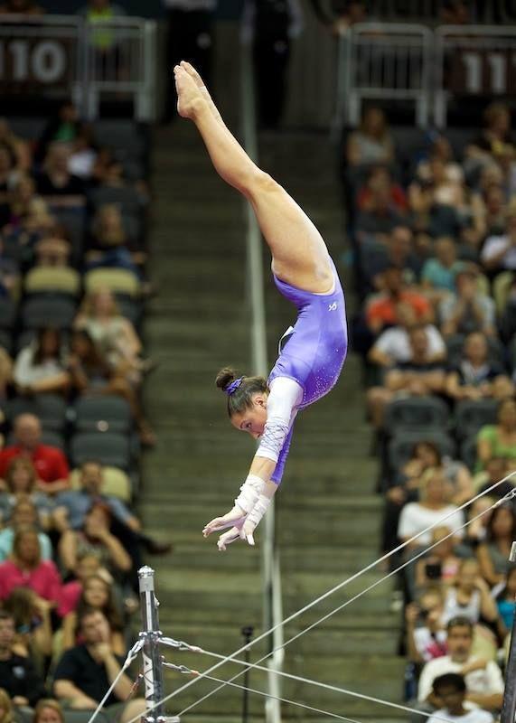 Amelia Hundley--2014 P&G Championships day two
