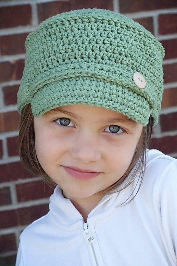 Asher Hat Crochet Pattern (Permission to sell all finished products)