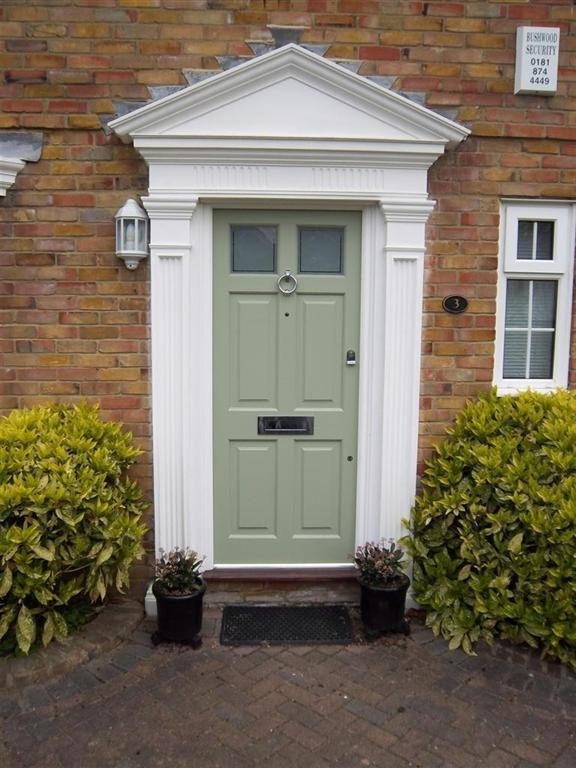 Love this duck egg colour for my front door