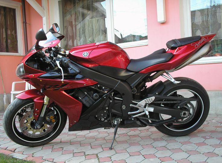 2005 yamaha r1 red black - 20150123  #yamaha #r1 #motorcycle #sportbike