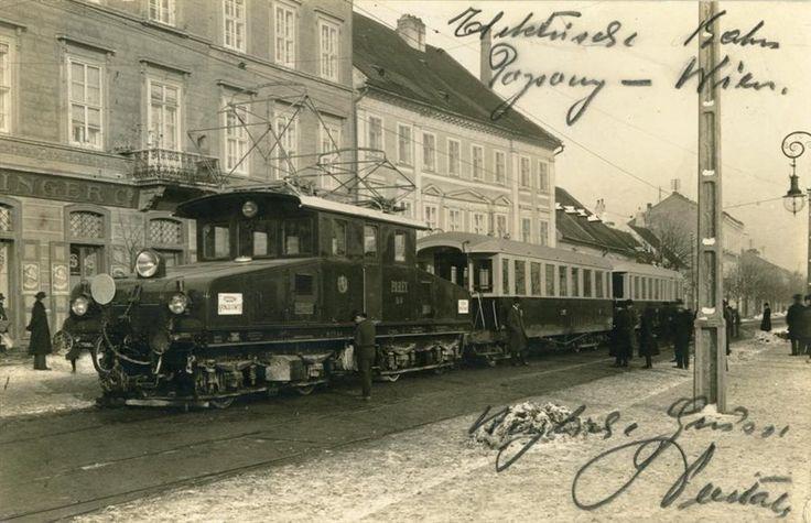 Ganz EG5 Pozsony-Bécs vonal