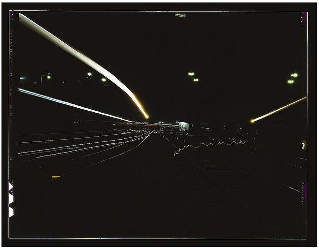 Jack Delano, Light Painting Photography, 1943