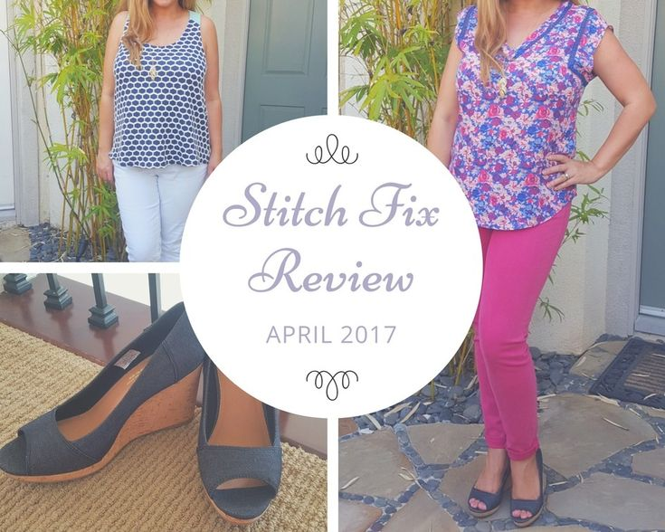 My @stitchfix review for April 2017 is live on the blog today! #stitchfix #fashion #style