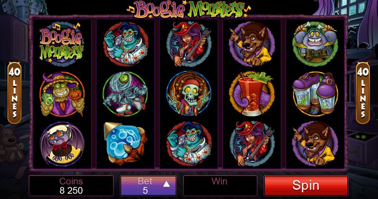 Get ready for a funky of your life on Boogie Monster Online Slot. Available for play here: http://www.royalvegascasino.com/casino-games/