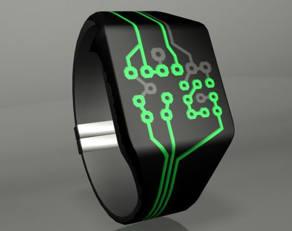 LED watch concepts