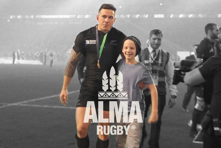 SBW gives to a kiwi boy his Gold Medal - ALMA da Copa