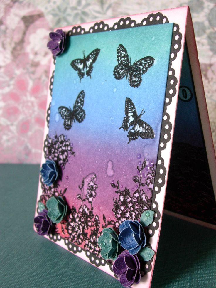 JIJI Cards - Distress Butterflies