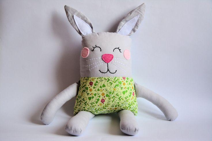 Zakręcony królik 1 w Pani Niteczka prezentuje na DaWanda.com