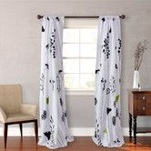 Found it at Wayfair - Asian Lily Cotton Lined Window Panels