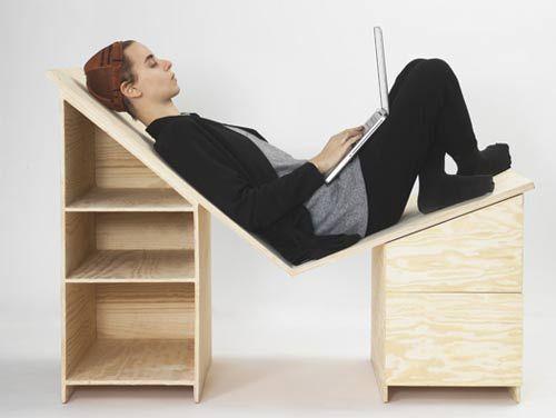 La scrivania per ufficio Desk moderna e originale