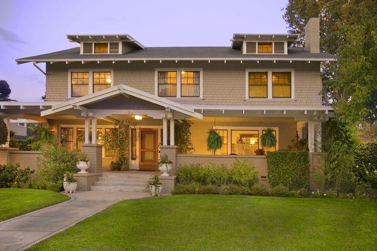 20 best images about craftsman homes on pinterest los for Pasadena craftsman homes