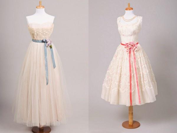 lace tea dresses vintage-inspiration