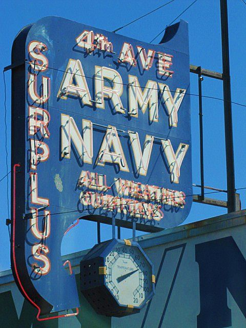 4th Ave. Army Navy ~Via Arcangelo Giovanni Corelli